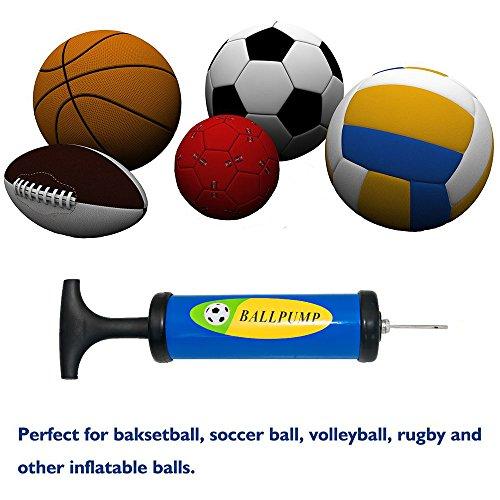 Lifebee, pompa para inflar balones, set con agujas y adaptadores ...