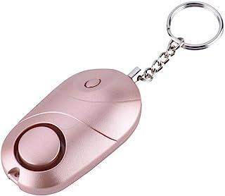 Safesound Personal Alarm Keychain Notfall Selbstverteidigung Sicherheitsalarm 130db Mit LED-Licht Whistle Selbstverteidigu...