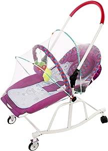 Yingerchuang Baby Rocking Chair Comfort Chair Recliner Newborn Baby Supplies Baby Cradle Stroller Sleep Shaker  Color Purple