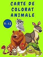 Carte de colorat pentru copii 9-12 cu Animale: Carte de activități pentru copii - Cărți de colorat cu animale - Pagini de colorat drăguțe și amuzante pentru copii - Cărți de colorat - Cărți pentru copii