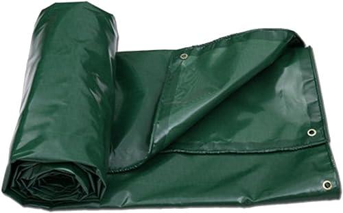 ZHAOXIANWEI Bache de Prougeection Solaire épaissie bache Robuste bache de Camping Sauvage (Couleur   vert, Taille   5x7m)