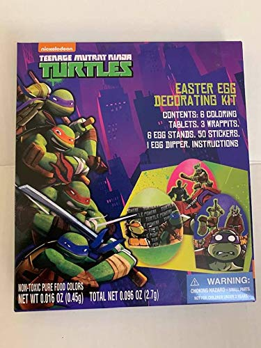 Cheapest Prices! Teenage Mutant Ninja Turtles Easter Egg Decorating Kit