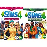 Los Sims 4 Rumbo a la Fama (La caja contiene un código de descarga - Origin) &  y las cuatro estaciones (La caja contiene un código de descarga - Origin)