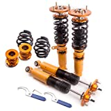 maXpeedingrods Kit De Suspension Complet Combines Filetes Amortisseurs pour E46 1998-2006 316I, 316Ci, 318I, 318Ci, 320I, 320Ci, 323I, 323Ci, 325I, 325Ci, 328I, 328Ci, 330I, 330Ci, M3 Or