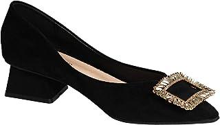 C.PARAVANO Dames Pump Schoenen met Hoge Hakken Vrouwen Punten Toe Pump Schoenen met Fijn Leer Stilettos Schoenen