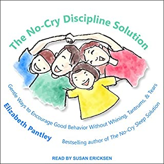 The No-Cry Discipline Solution audiobook cover art