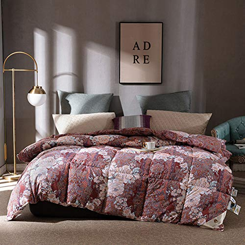 YXZN Winter Duvet King Size Cashmere Fabric Quilt, Quilt Cashmere Warm Moisture/gas-permeable Down Quilts Down Duvet Double Bed Sided Thick Breathable Winter