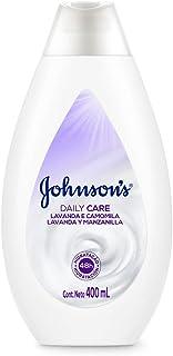Loção Hidratante Daily Care Lavanda e Camomila Johnson's, 400ml