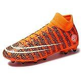 JJZXLQ - Zapatillas de fútbol para niño, diseño de fútbol