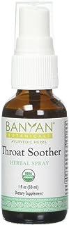 Banyan Botanicals Throat Soother Herbal Spray – Organic Herbal Throat Spray for Throat Comfort and Immune Support* – 1 fl...