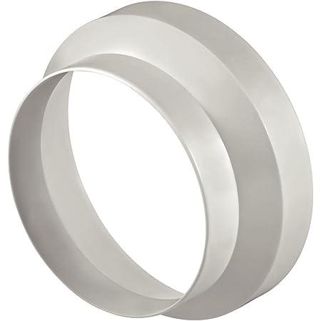 Xavax Réducteur de diamètre (pour hottes aspirantes de 150 mm sur 125 mm) Blanc