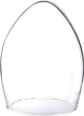 キャンドルインプレッションズ 日本製 LED キャンドルドーム Dome-glassH200 吹きガラス プレーン Dome2002