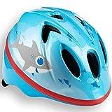 Schwinn Kids Character Bike Helmet, Infant, 1-3 Years Old, 44-50 cm, Dial Fit Adjustable, Blue Shark