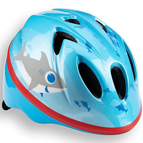 Schwinn Unisex Baby Shark Kinderhelm, blau, Einheitsgröße