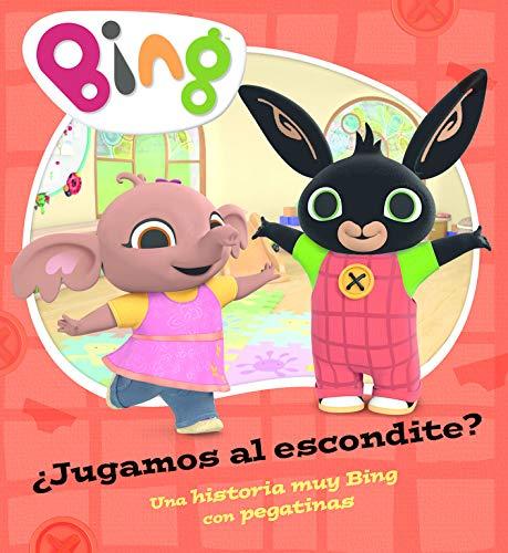 ¿Jugamos al escondite? (Un cuento de Bing): Una historia muy Bing con pegatinas