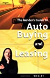 Insider's Guide to Auto Buying and Leasing
