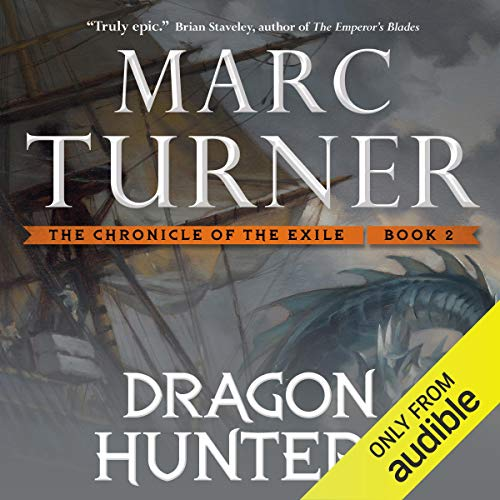Dragon Hunters audiobook cover art