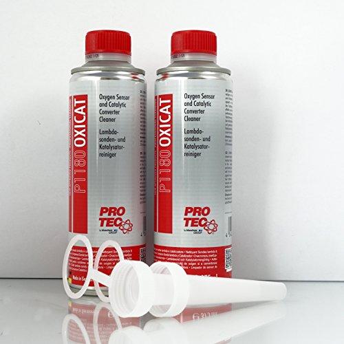 Limpiador Lambda Sonda y limpiador catalizador P1180 Oxicat 2x 375ml