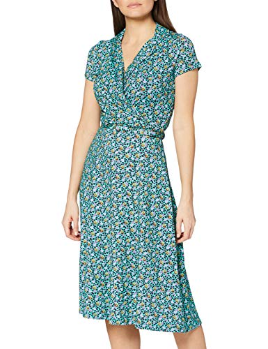 Joe Browns Damen Something Sweet Dress Lssiges Kleid, A-grün Multi, 38