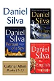 Daniel Silva's Gabriel Allon Collection, Books 11 - 13: Portrait of a Spy, The Fallen Angel, and The English Girl