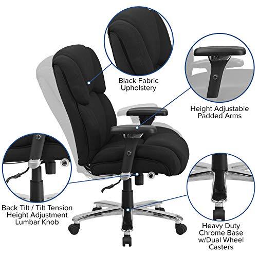 Flash Furniture HERCULES Chair with Lumbar Knob
