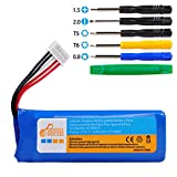 Pickle Power 3200mAh Battery with Tool Set Replacement for JBL Speaker Battery, Compatible with JBL Flip 4 and Flip 4 Special Edition Portable Bluetooth Speaker, fits JBL GSP872693 01.