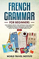 French grammar for beginners Vol.1