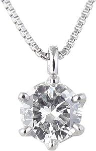 ネックレス 一粒 ダイヤモンド ネックレス プラチナ ダイヤモンド ネックレス ダイヤモンド ダイヤ 0.3カラット レディース