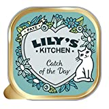 <span class='highlight'>Lily</span>'s <span class='highlight'>Kitchen</span> <span class='highlight'>Adult</span> Catch of the Day Complete Wet Cat Food, 19 x 85 g