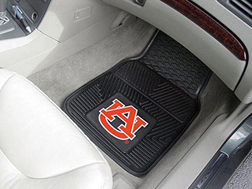 Fanmats Auburn Sports Team Logo Heavy Duty 2 Piece Front Row Vinyl Car Truck SUV Floor Mats 18