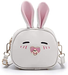 Kids Crossbody Shoulder Bag, Cute Mini Little Girls Purses Bags, Cartoon Animal Preschool Girls Backpack, PU Leather Fashi...