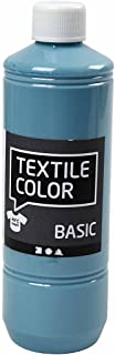 Color textil, azul paloma, 500 ml