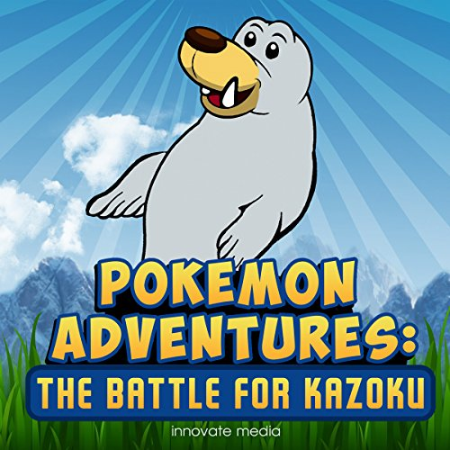 Pokemon Adventures audiobook cover art