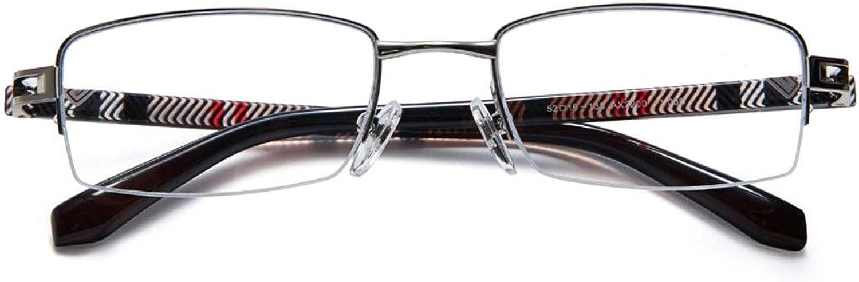 Magnifier Unisex Reading Glasses Comfortable Ultra Light HD Elderly Hyperopia Antifatigue ( color   200 DEGREES )