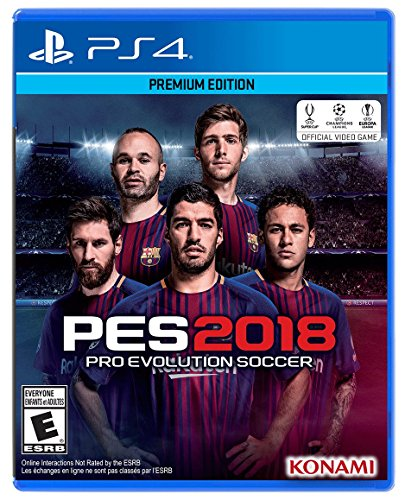 Pes 2018 - Edicao Premium - Ps4