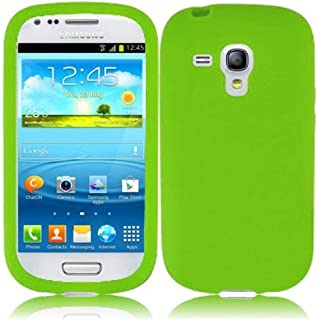 Generic Hard Case Cover for Samsung Galaxy S3 Mini I8190 - Neon Green