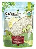Organic Jasmine Rice by Food to Live (Raw White Rice, Whole Grain,...