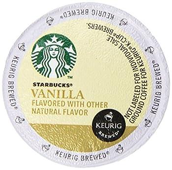 Starbucks Vanilla Coffee Keurig K-Cups 32 Count  0.35 oz each