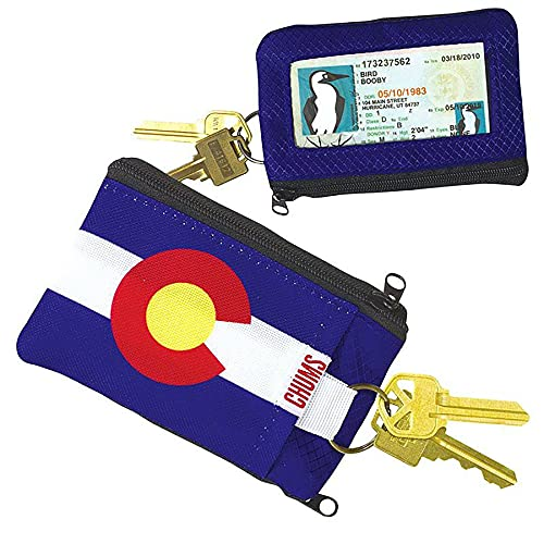 Chums Surfshorts Wallet   Colorado Flag