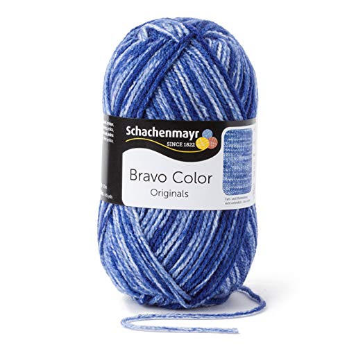 Schachenmayr Handstrickgarne Bravo Color, 50g Royal Denim