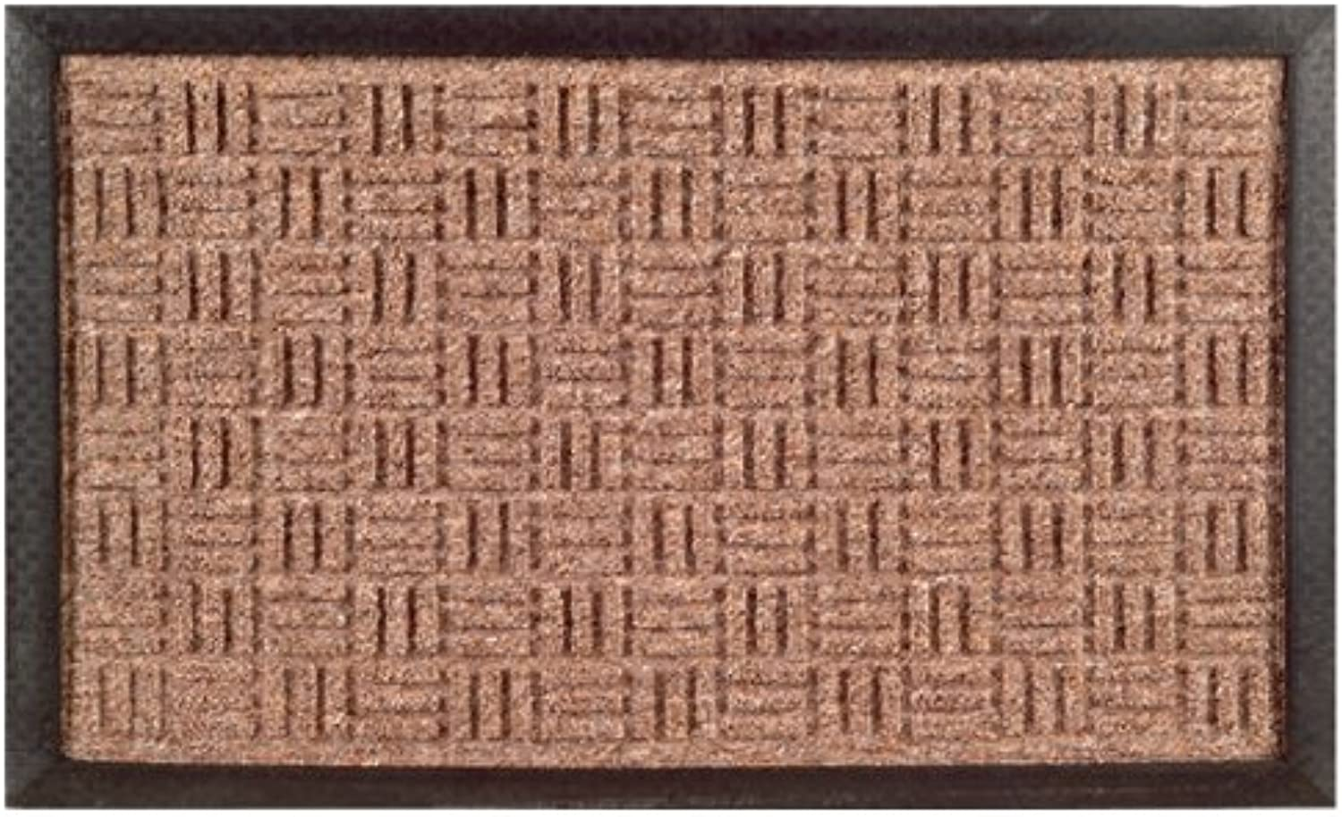 Imports Decor 861SMT-L Synthetic Rubber Mat, 24 x 36 , Brown
