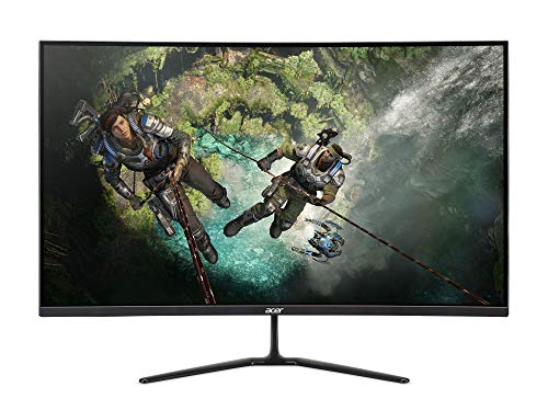 "Acer ED320QR - 31.5"" Curved Monitor Full HD 1920x1080 16:9 VA 1ms 144Hz 300Nit HDMI (Renewed)"