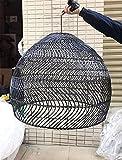 Retro vintage araña ratán bambú araña de mimbre moderno tejido de bambú led led lara lámpara vintage sala de estar colgante luces colgantes para decoración de hogar accesorios industriales