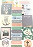 635 pcs Sunday Funday Devotional Planner Stickers Motivation Promises Encouragement Notes Goals Reminders