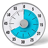 Secura 7.5-Inch Oversize Visual Countdown Timer, 60-Minute Kitchen Timer   Time Management Tool