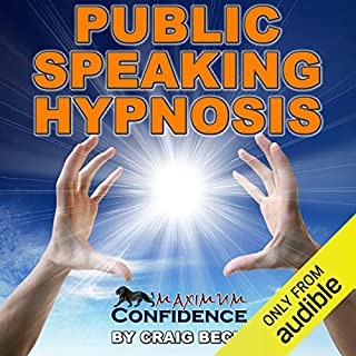 Page de couverture de Public Speaking Hypnosis
