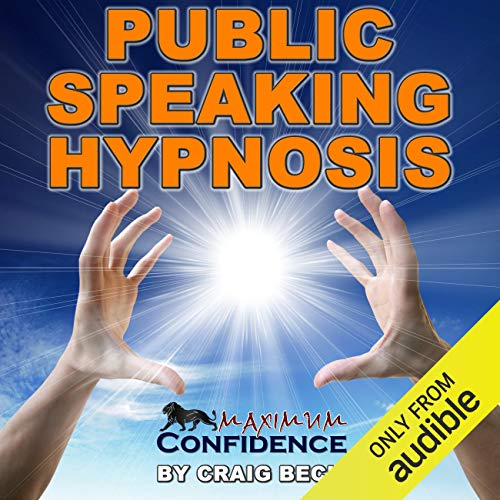 Public Speaking Hypnosis audiobook cover art