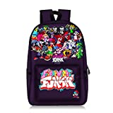 Friday Night Funkin Bag 3D Mochilas Escolares Mochila para niños Anime Harajuku Teenager Laptop Fnf Book Bag