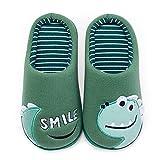 House Slippers for Kids Slippers for Boys Warm Plush Winter Slippers for Girls Cotton Slipper Kids Cute Dinosaur Indoor Shoes Non-Slip