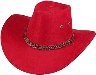 Yezijin Men Women Cowboy Hat Western Cap Wide Brim Sunhat Winter 2019 New